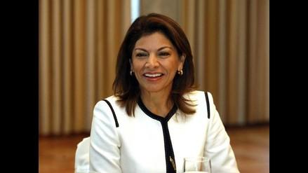 Laura Chinchilla es la primera presidenta de Costa Rica