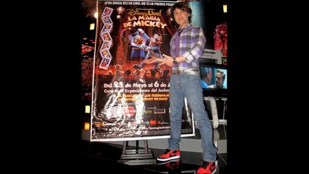 Bruno Pinasco es un chico Disney