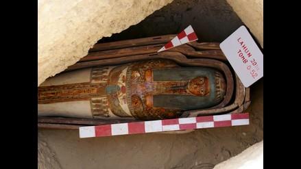 Descubren una colección de 45 tumbas faraónicas