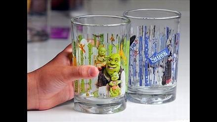 Vea los vasos que McDonald´s contaminados con cadmio