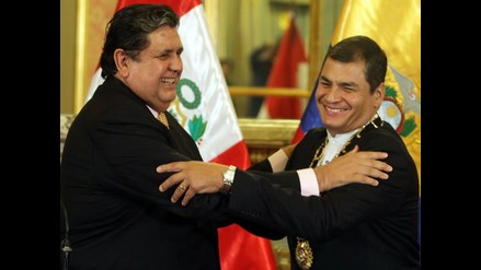 Presidente García destaca postura de Ecuador sobre diferendo en La Haya