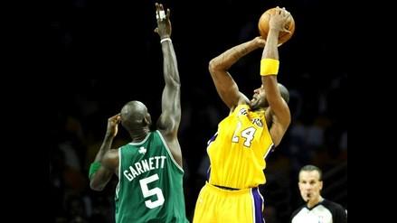 Lakers fuerzan serie final de NBA al máximo con triunfo sobre Celtics