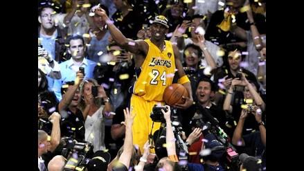 Kobe Bryant logra su segundo título de Jugador Más Valioso de las finales