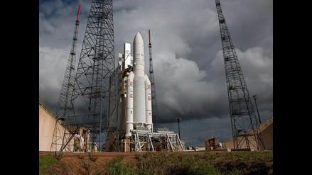 Arianespace lanza un satélite para Oriente Medio y otro para Corea