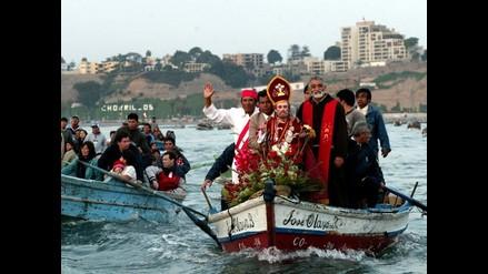Pescadores celebran su día con procesión de San Pedro en el mar
