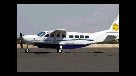 Pilotos de avioneta desaparecida retornarán a Lima en las próximas horas