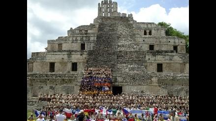 La deformación craneal, ideal de belleza maya, sorprende a ´ruteros´