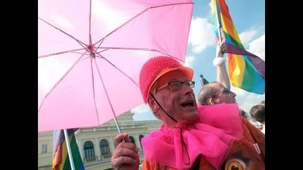 Desfile del orgullo gay en Varsovia
