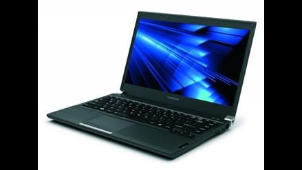 Portégé R705 de Toshiba, la laptop más delgada y poderosa