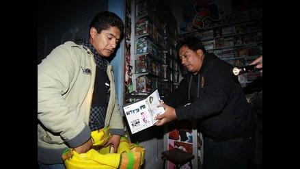 Incautan productos piratas y de contrabando en Polvos Azules