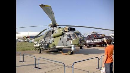 Ministro Rafael Rey destaca ´buenísima calidad´ de MI-17 rusos