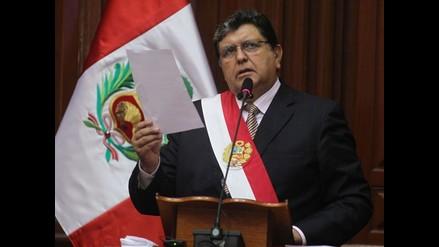 Mensaje a la Nación del presidente Alan García