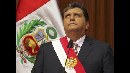 ¿Qué opina del mensaje del presidente Alan García?
