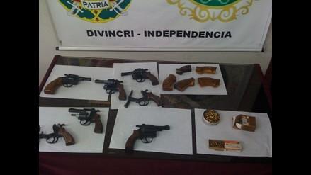 Trujillo: Capturan a banda de asaltantes que utilizaba armas de guerra
