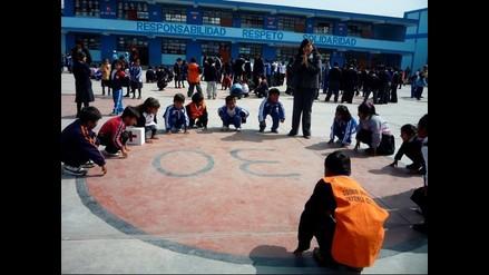 Simulacro de terremoto en Chincha y Tacna
