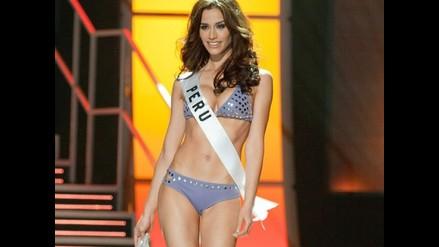 Giuliana Zevallos se luce en los ensayos de Miss Universo 2010