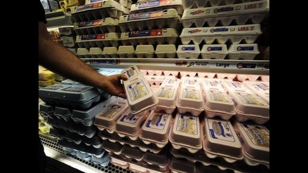 Salmonella invade EE.UU: 500 millones de huevos son sacados del mercado