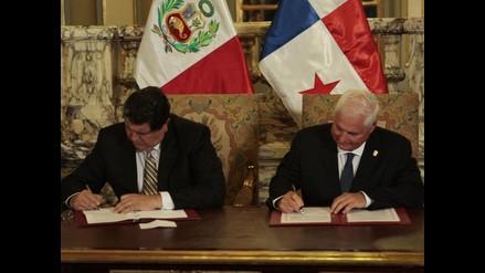 Perú y Panamá iniciarán negociaciones para acuerdo de libre comercio