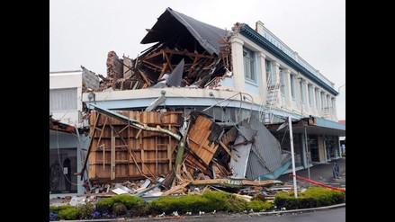 Daños causados por terremoto en Nueva Zelanda