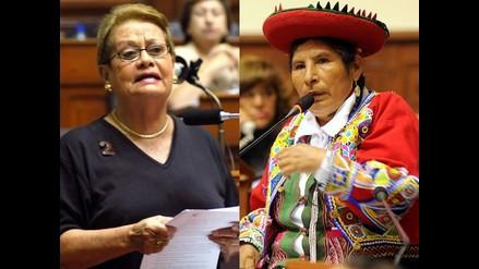 Martha Hildebrandt: Presidencia de Hilaria Supa es casi una burla