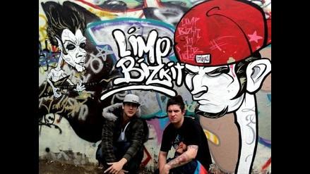 Jean Paul Santa María realizó graffiti de Limp Bizkit