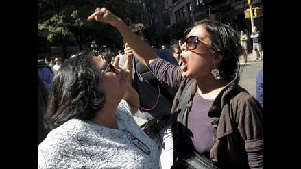 Diversas protestas marcaron conmemoración del 11-S