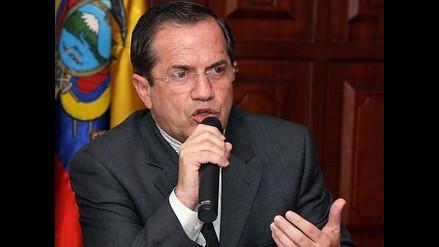 Ecuador dice que mantiene prudencia ante litigio de límites Perú-Chile