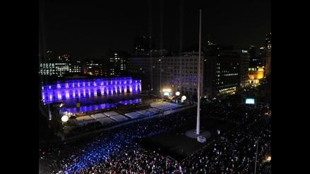 Unas 70 mil personas presenciaron espectáculo en Palacio de La Moneda