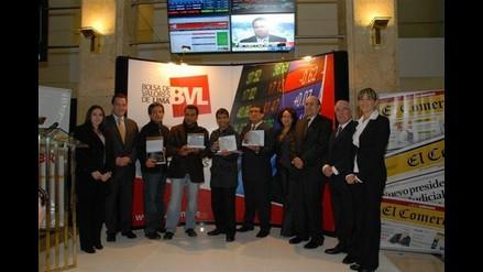 Premian a ganadores de Primer Concurso Foto BVL