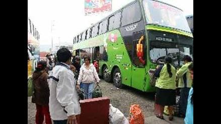 Mercado de buses interprovinciales se redujo en 15%