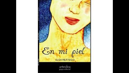 Escritora peruana Elga Reátegui presenta poemario En mi piel