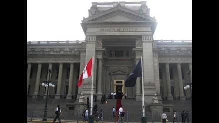 Trabajadores del Poder Judicial acatan paro parcialmente