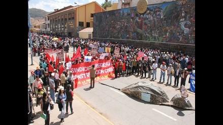 Trabajadores de Poder Judicial de Áncash acatan paro de 48 horas