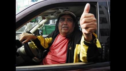 Tongo llegó hasta el local del PPC a visitar a Lourdes Flores