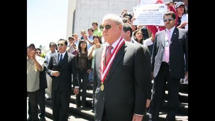 Arequipa: Javier Villa Stein se solidariza con paro judicial