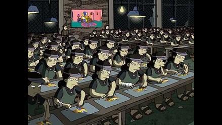 Denuncian explotación laboral en controversial secuencia de Los Simpsons