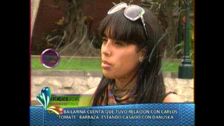 Katherine Rojas afirma que sostuvo relación con Carlos Barraza