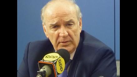 Canciller lamenta fallecimiento de don Juan Miguel Bákula