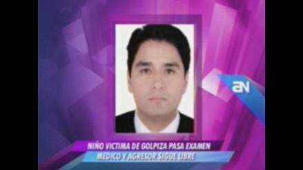 Abogado de Luis Torres: Mi cliente niega haber golpeado a niño
