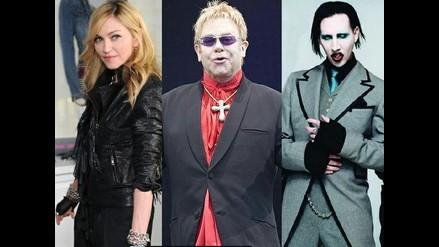 Madonna, Elton John y Manson en retrospectiva del fotógrafo Rankin