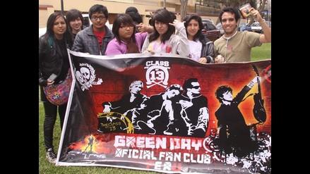 Green Day enloquece a fanáticos peruanos