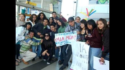 Mia Mont conquistó Ecuador con su propuesta musical
