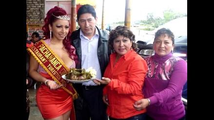 Deysi Araujo fue elegida Miss Pachamanca 2010