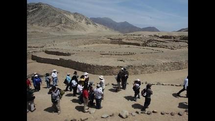 Ciudad sagrada de Caral abrió al público recientes hallazgos