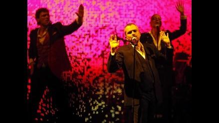 Miguel Bosé se reencuentra con el público venezolano