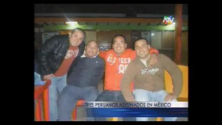Acribillan y matan a tres peruanos en un bar de México