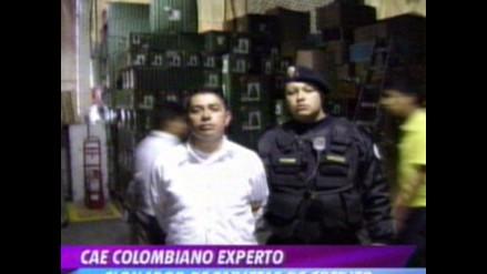 Detienen a ciudadano colombiano que clonaba tarjetas de crédito