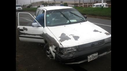 Un muerto y dos heridos deja un accidente de tránsito en Surco