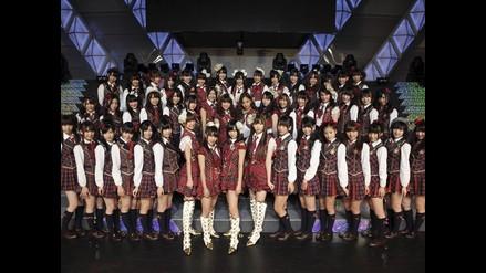 Grupo musical japonés AKB48 rompe un récord Guinness
