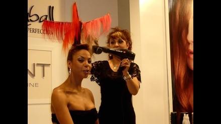 Rosa Elvira Cartagena opta por espectacular peinado de Hanna Caball